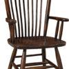 Amish Easton Shaker Arm Chair