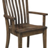 Amish Fontana Dining Arm Chair