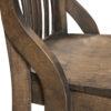 Amish Fontana Chair Side View