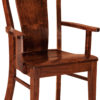 Amish Lacombe Arm Dining Chair