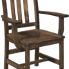 Amish Lodge Arm Dining Chair