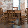 Amish Lodge Chair Setting