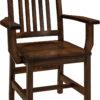 Amish Logan Dining Arm Chair