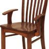 Amish Malibu Dining Arm Chair