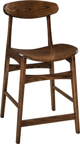 Amish Marque Bar Stool