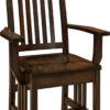 Amish Mission Dining Arm Chair