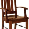 Amish Ouray Arm Dining Chair
