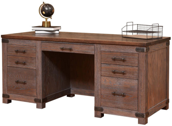 Amish Georgetown Premier Executive Desk