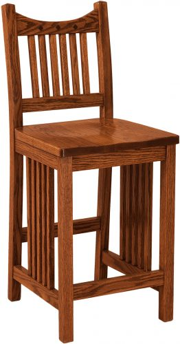 Amish Royal Mission Junior Stationary Bar Stool