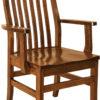 Amish Sullivan Dining Arm Chair