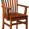 Amish Theodore Dining Arm Chair
