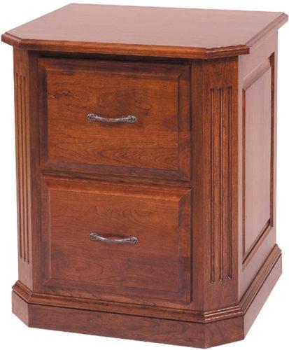 Amish Buckingham 2-Drawer File Cabinet