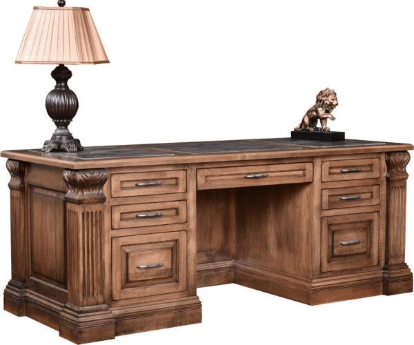 Amish Montereau Executive Desk