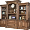Amish Montereau Base and Three Piece Hutch
