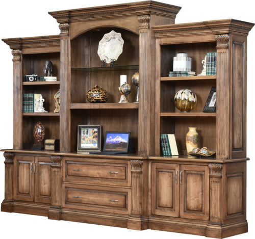 Montereau 131 Inch Base and 3 Piece Hutch