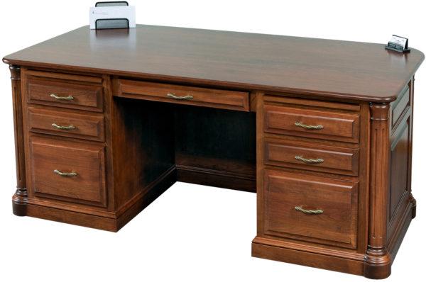Amish Jefferson Executive Desk