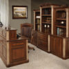 Amish Jefferson Series Executive Office Set