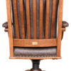 Amish Back View Executive Desk Chair