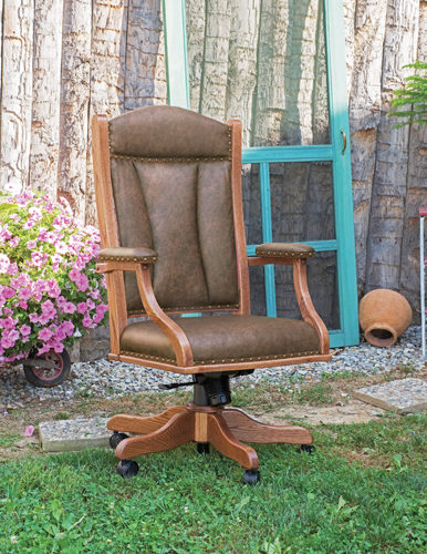 Amish Buckeye Executive Desk Chair