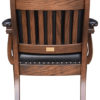 Amish Low Back Client Arm Chair Back