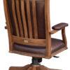 Amish Mission Desk Chair Back