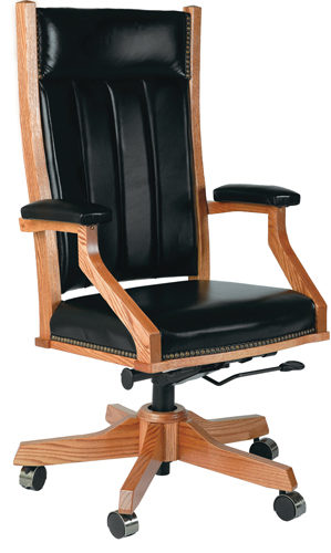 Amish Mission Desk Chair