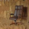 Amish Clark Executive Chair Setting