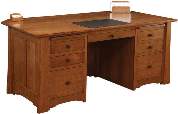 Amish Jamestown Premier Executive Desk