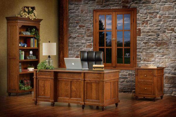 Amish Bridgeport Office Set