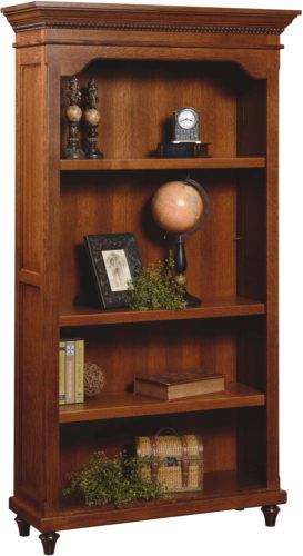 Amish Bridgeport Bookcase