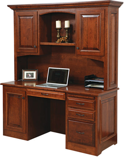 Amish Liberty Classic Credenza and Hutch