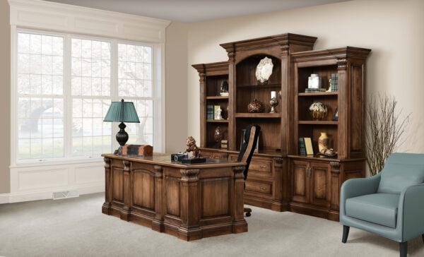 Amish Montereau Office Set