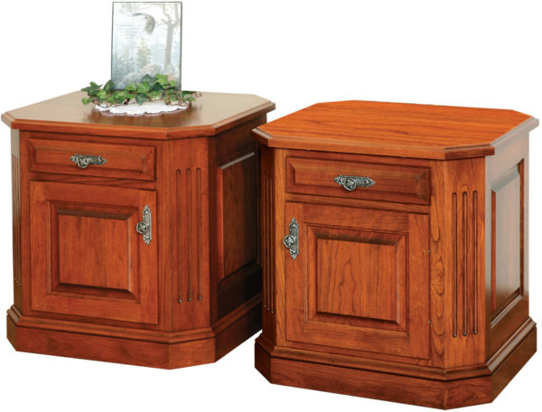Amish Buckingham Deluxe End Table