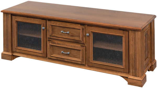 Amish Lincoln Deluxe Plasma TV Stand