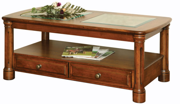 Amish Jefferson Open Coffee Table