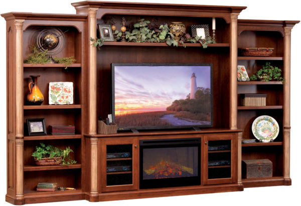 Amish Jefferson Deluxe Entertainment Center