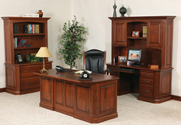 Amish Buckingham Deluxe Office Collection