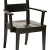 Amish Carson Dining Arm Chair