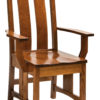 Amish Colebrook Dining Arm Chair