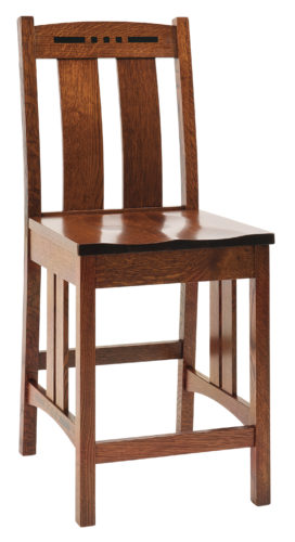 Amish Colebrook Stationary Bar Chair