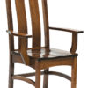 Amish Country Shaker Dining Arm Chair