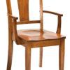 Amish Ellington Dining Arm Chair
