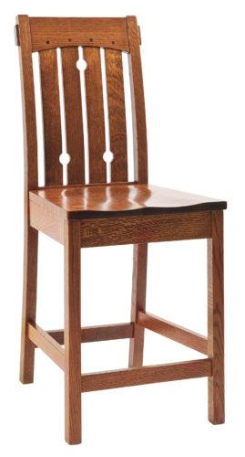Amish Douglas Mission Bar Chair