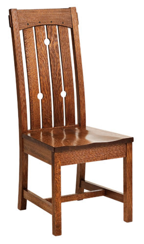 Amish Douglas Mission Dining Chair