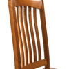 Amish Elridge Dining Chair Back Detail
