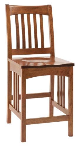 Amish Elridge Mission Bar Chair