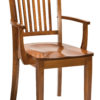 Amish Frankton Dining Arm Chair