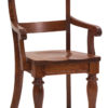 Amish Harvest Dining Arm Chair