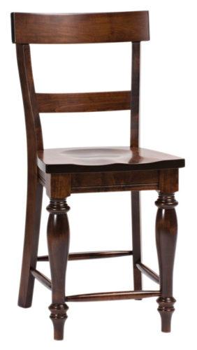 Amish Harvest Stationary Bar Chair