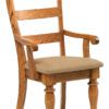 Amish Harvest Highback Dining Arm Chair